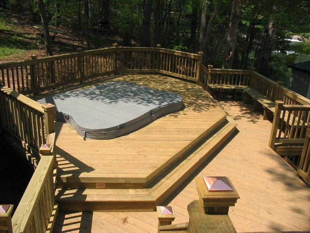 Archadeck Spa Deck Builder Lake Wylie