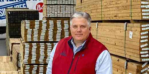 Dan Jones, Manager, 84 Lumber, Charlotte, NC